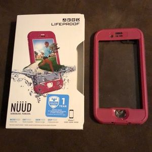 iPhone 7 Lifeproof Nuud case